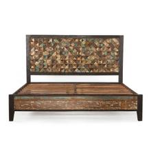 See Details - Rio Carved Teak Wood Queen Bed