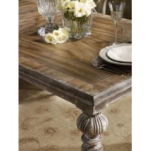 View Product - Chatelet Rectangle Leg Dining Table with Two 18'' Leaves