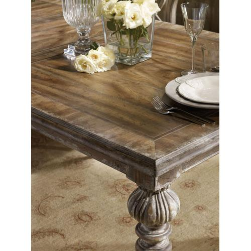 Hooker Furniture - Chatelet Rectangle Leg Dining Table with Two 18'' Leaves