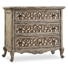 See Details - Chatelet Fretwork Nightstand