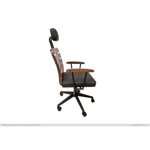 International Furniture Direct - Desk Chair w/Wheels