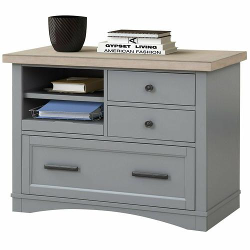 AMERICANA MODERN - DOVE Functional File with Power Center