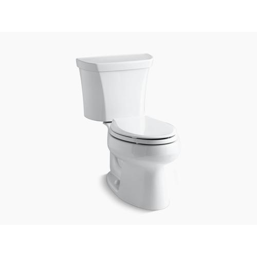 Kohler - Almond Two-piece Elongated Dual-flush Toilet With Right-hand Trip Lever
