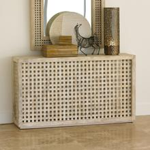 See Details - Driftwood Lattice Console
