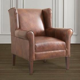 Georgia Leather Accent Chair