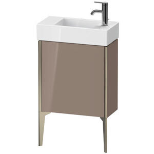 Duravit - Vanity Unit Floorstanding, Cappuccino High Gloss (lacquer)
