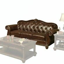 ACME Anondale Sofa - 15030 - Espresso Top Grain Leather Match