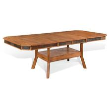 View Product - Sedona Dual Height Ext. Dining Table