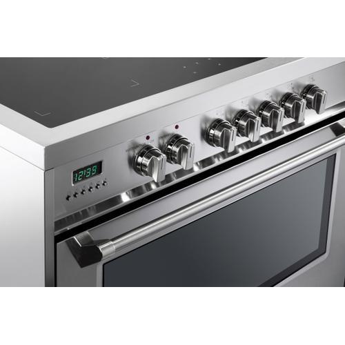 "Verona - Stainless Steel 36"" Designer Induction Range"