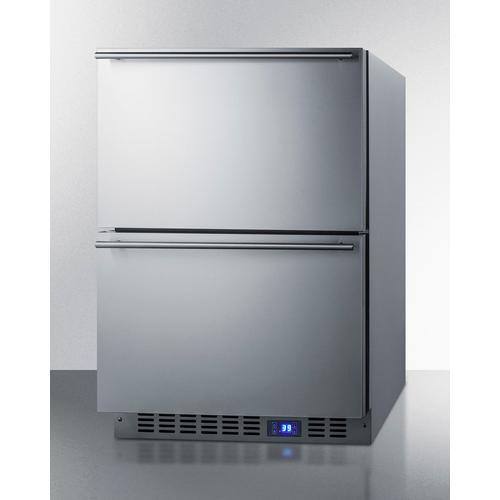 "24"" Wide 2-drawer All-refrigerator"