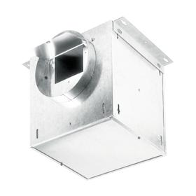 Broan® LOSONE SELECT Ventilation Fan; 106 CFM Straight Through, 0.7 Sones; 95 CFM Right Angle, 0.3