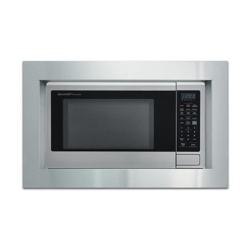 Sharp - 30 in. Built-in Microwave Oven Trim Kit