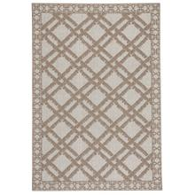 "Finesse-Bamboo Trellis Barley - Rectangle - 3'11"" x 5'6"""