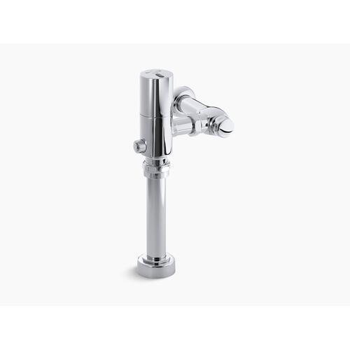 Polished Chrome Touchless 1.6 Gpf Retrofit Toilet Flushometer