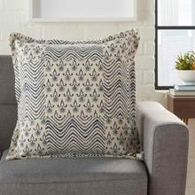 "Life Styles Dl568 Indigo 20"" X 20"" Throw Pillow"
