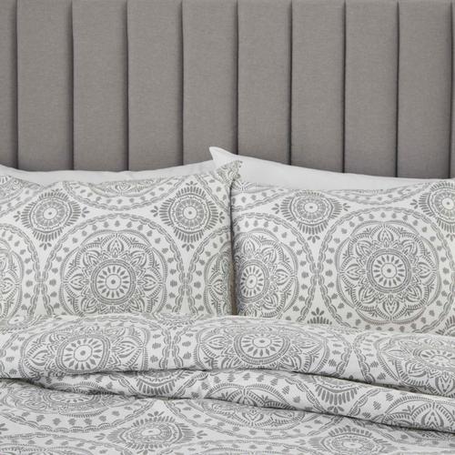 Dreamscape Dsc03 Grey King 3-piece Bed Set