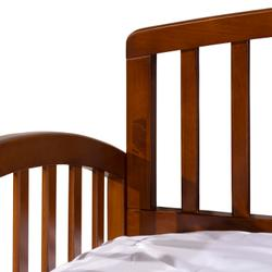 Carolina Complete Twin Size Daybed With Trundle, Walnut