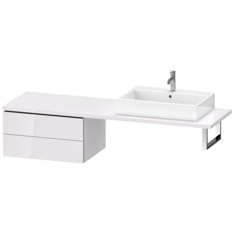 Low Cabinet For Console, White Lilac High Gloss (lacquer)