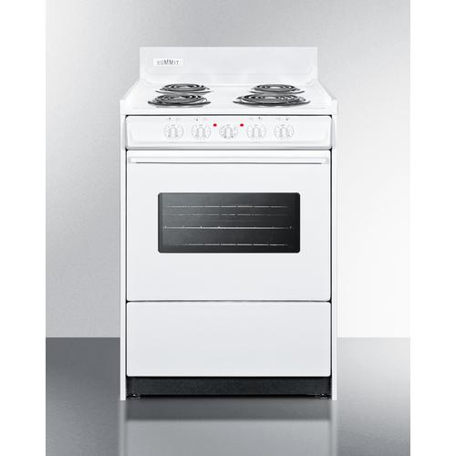 """24"""" Wide Electric Coil Top Range"""