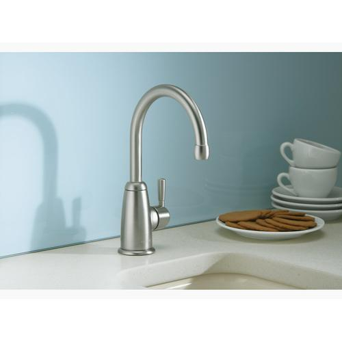 Vibrant Brushed Nickel Beverage Faucet