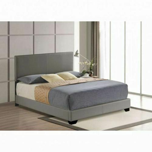 ACME Ireland Full Bed (Panel) - 24325F - Gray PU