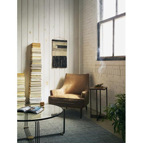 Dakota Warm Taupe Cover Danya Chair