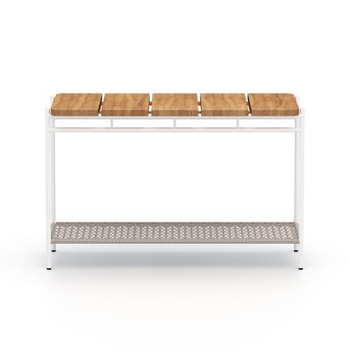 Aroba Outdoor Console Table-natural Teak