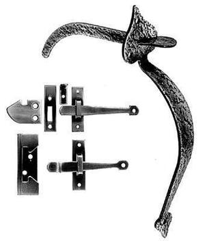 Rim Latch for Interior and Light Exterior Door Product Image