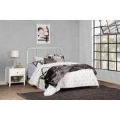 Dakota Full/queen Metal Headboard With Frame, White