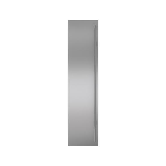 Sub-Zero - Stainless Steel Flush Inset Freezer Door Panel with Tubular Handle