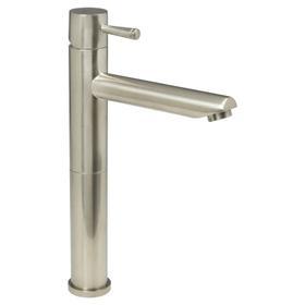 Serin 1-Handle Monoblock Vessel Bathroom Faucet - Brushed Nickel