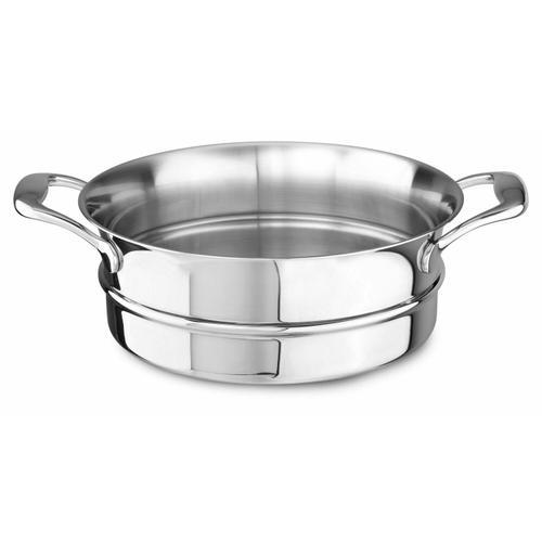 KitchenAid - 18/10 Stainless Steel Steamer Insert