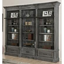 See Details - GRAMERCY PARK 3 piece Museum Bookcase (9030 and 2-9031)