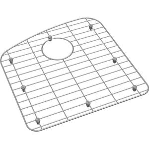 "Dayton Stainless Steel 16-3/4"" x 17-1/4"" x 1"" Bottom Grid Product Image"