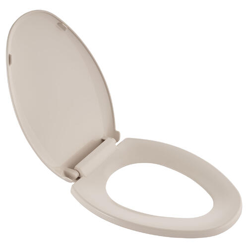 Cardiff Slow-Close Elongated Toilet Seat  American Standard - Bone