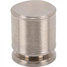 View Product - Vibe Knob 1 Inch Brushed Satin Nickel Brushed Satin Nickel