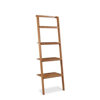 See Details - Currant Leaning Bookshelf, Caramelized