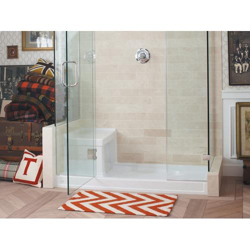 "Dune 60"" X 32"" Single Threshold Right-hand Drain Shower Base With Integral Left-hand Seat"