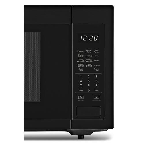 Whirlpool - 1.6 cu. ft. Countertop Microwave with 1,200-Watt Cooking Power Black