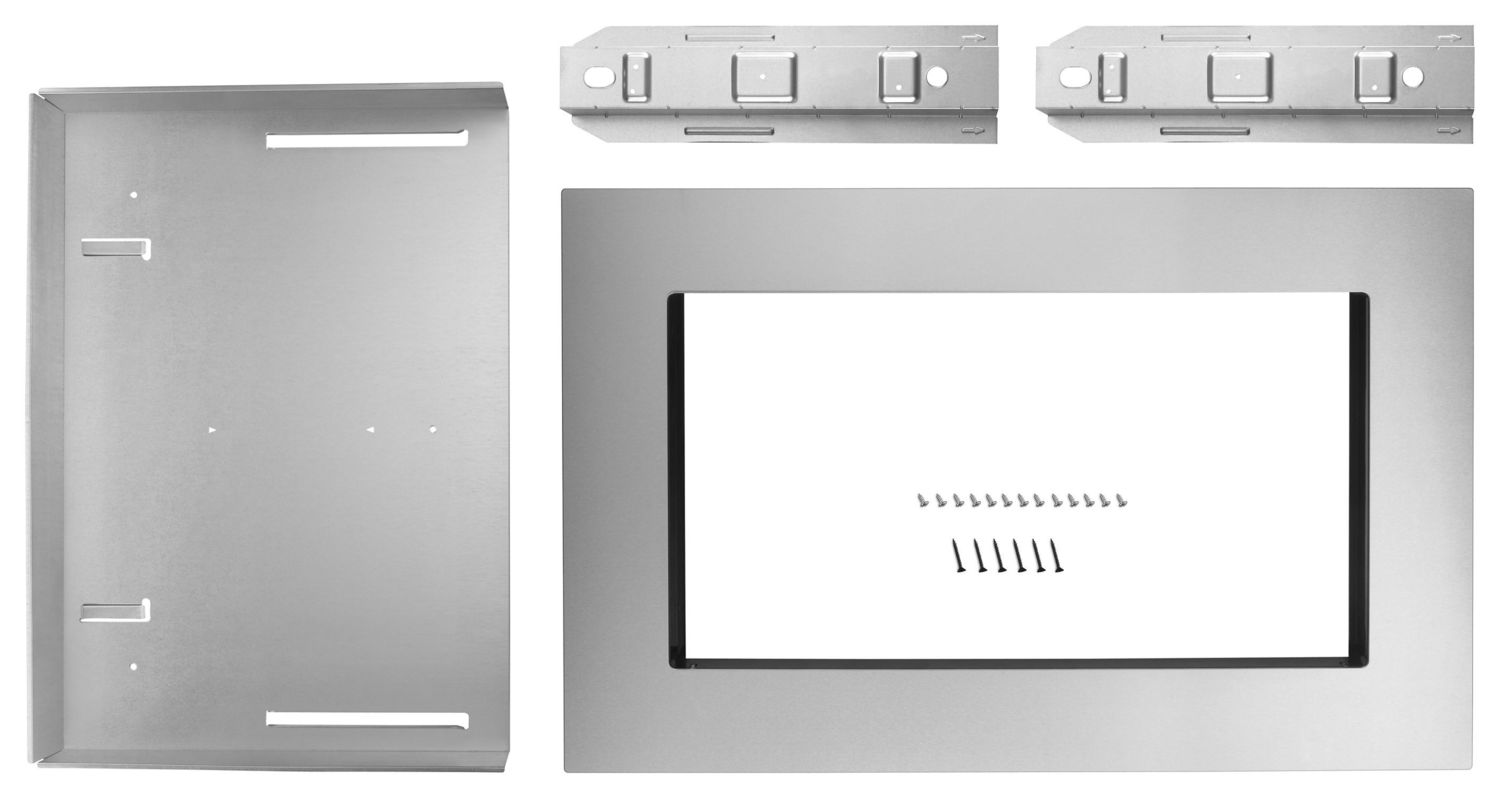 27 in. Trim Kit for 1.6 cu. ft. Countertop Microwave Oven Fingerprint Resistant Stainless Steel