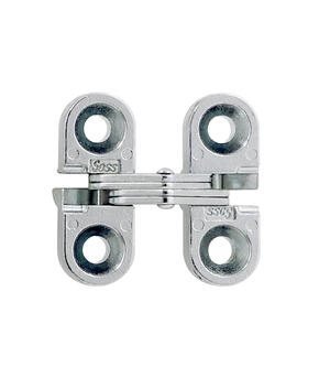 Model 100 Invisible Hinge Satin Chrome Product Image