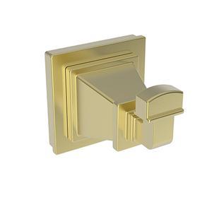 Satin Brass - PVD Single Robe Hook