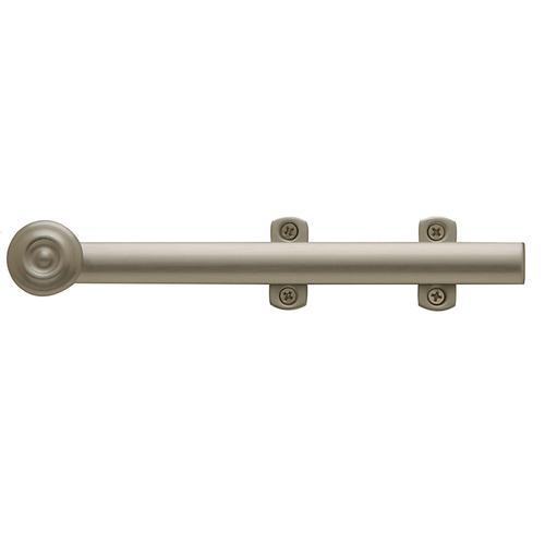 Satin Nickel Decorative Heavy Duty Surface Bolt