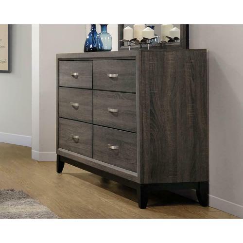 Watson Rustic Grey Oak Dresser