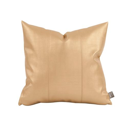 "Pillow Cover 16""x16"" Luxe Gold"