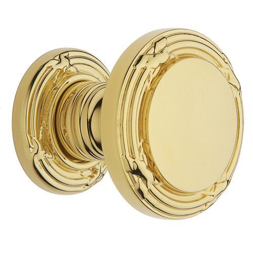Baldwin - Non-Lacquered Brass 5013 Estate Knob