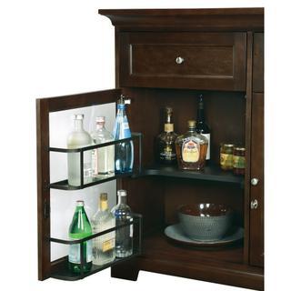WS46E Wine & Bar Custom Console