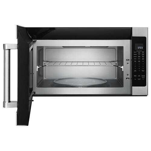 "Whirlpool - 30"" 1000-Watt Microwave Hood Combination"