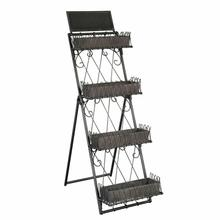 2-7699 Marketplace Tiered Metal Shelves