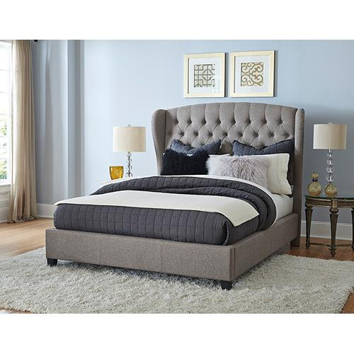 Bromley Bed Set - King - Rails Included